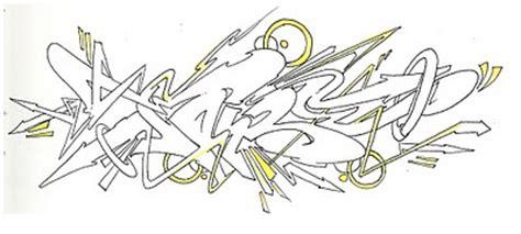 graffiti mural sketch wildstyle graffiti black