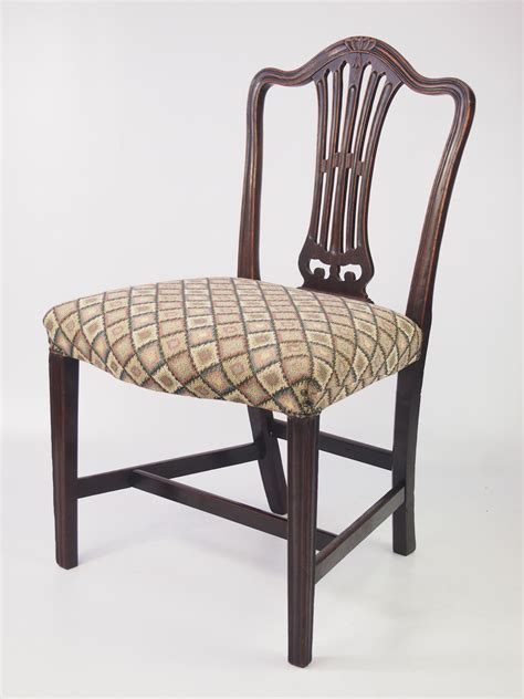 Georgian Mahogany Side Chair Bedroom Chair Side Chairs For Bedroom