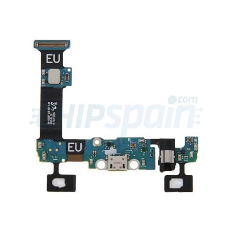 Flexibel Microphone Connector Charger Samsung S6 Edge G925f flex charging connector and microphone samsung galaxy s6 edge plus chipspain