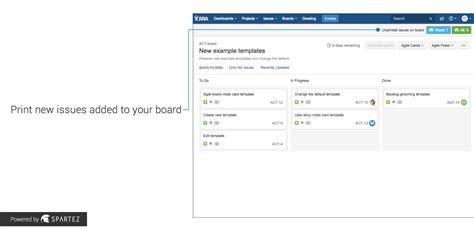 update jira layout agile cards printing issues from jira atlassian