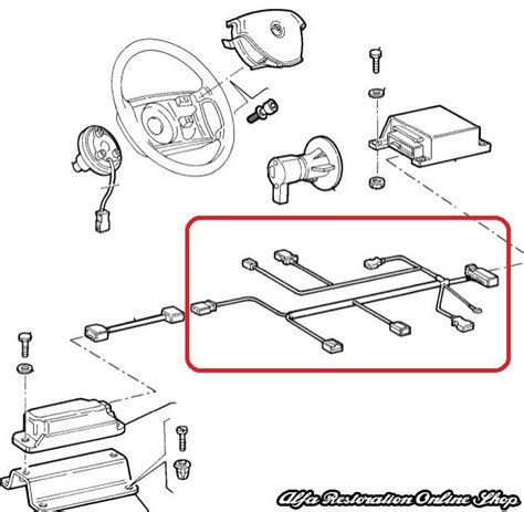 alfa romeo 156 airbag wiring diagram wiring diagram with