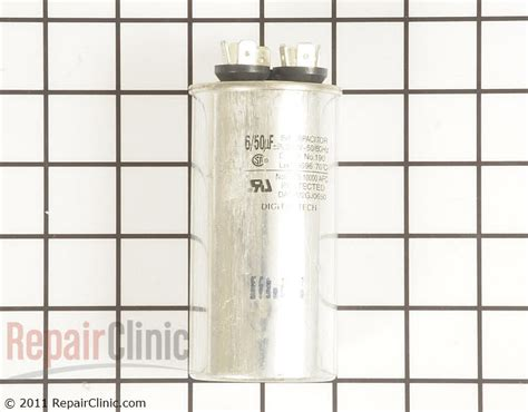 how to test dehumidifier capacitor capacitor 0czza20001n repairclinic