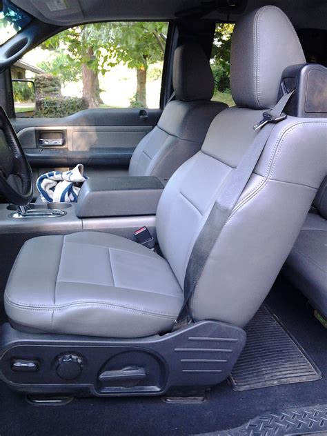 pistachio car seat cover got my clazzio seat covers installed ford f150 forum