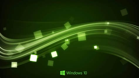 abstract wallpaper windows 10 windows 10 wallpaper in abstract green waves hd