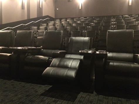 theatre with reclining seats new lansdowne movie theatre offering in seat food and