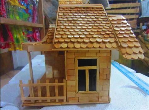 membuat ice cream di rumah gambar membuat miniatur rumah dari stik ice cream dan