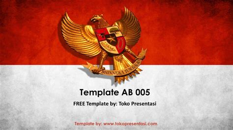 theme song film merah putih powerpoint template indonesia gallery powerpoint