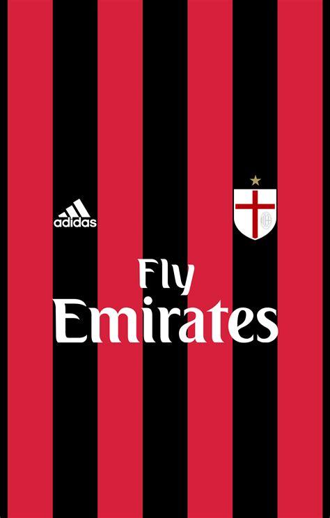 Casing Iphone 6 6 Plus Ac Milan Logo X4283 stagione 2015 2016 marte