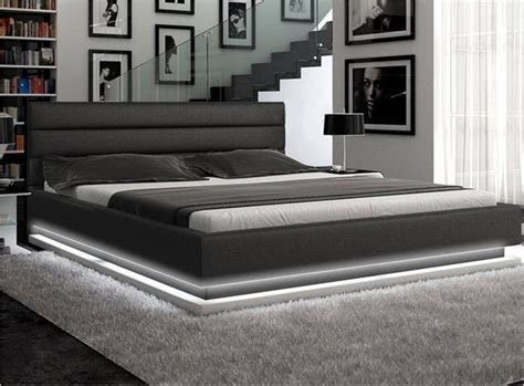 kings size bed frame california king platform bed villazo padded leatherette platform bed cal king brown