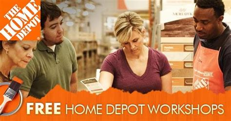 home depot kids workshops free weekly workshops home 25 free things you never knew you could get for free