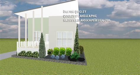 modern xeriscape nashville landscape design services