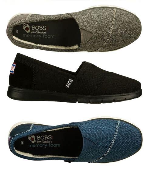 skechers memory foam shoes for skechers bobs pureflex s memory foam slip on flats