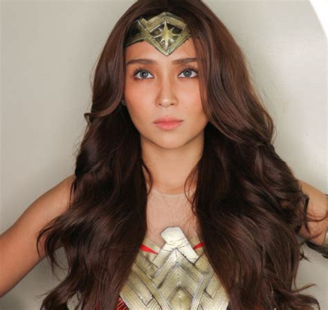 kathryn bernardo new hairstyle will gal gadot notice kathryn bernardo s wonder woman look