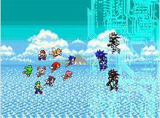 TLF vs Mecha Squadrant - by kloyst Mecha Mario Vs Metal Sonic