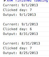 javascript format date week javascript get date by day of week based from that date