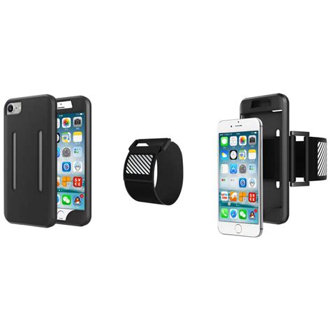 Sports Silicone Armband For Iphone sports silicone armband for iphone 7 black jakartanotebook