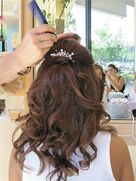 half up half down hairstyles mother of the bride 22 best images about hair for mother of the bride on