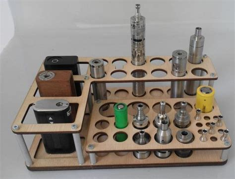 vape stand diy vape stand mini titan wood minis woods and vape