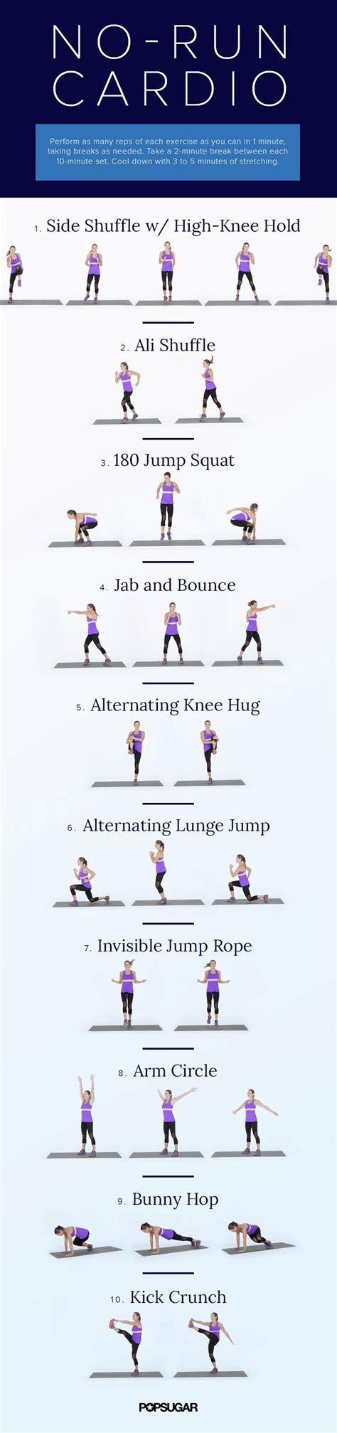 living room cardio workouts to do inside popsugar fitness australia