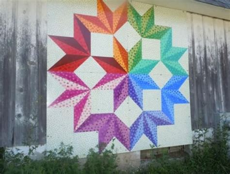 mchenry county quilted barn program barn quilts hex