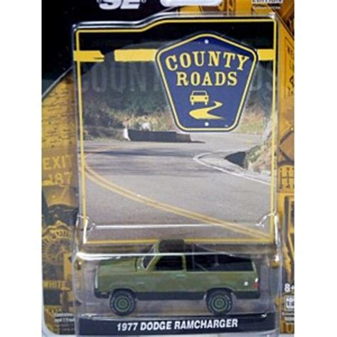Greenlight 1977 Dodge Ramcharger greenlight county roads 1977 dodge ramcharger camoflaged global diecast direct