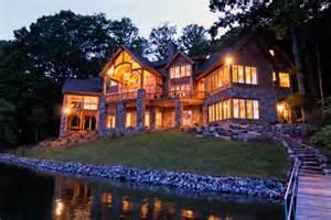 luxury lake retreat architectural designs house plan best lake house plan lake home plans ideas picture