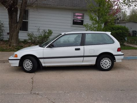 vintage honda civic curbside classic 1991 honda civic hatchback citizen of