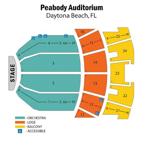 peabody opera house seating chart box d pictures to pin on