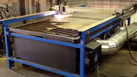 cheap cnc plasma table cnc plasma custom built downdraft system