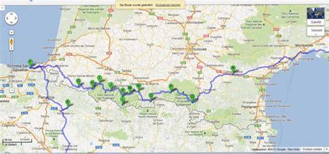 Motorradtouren Frankreich Karten by Italien Spanien Frankreich 2013