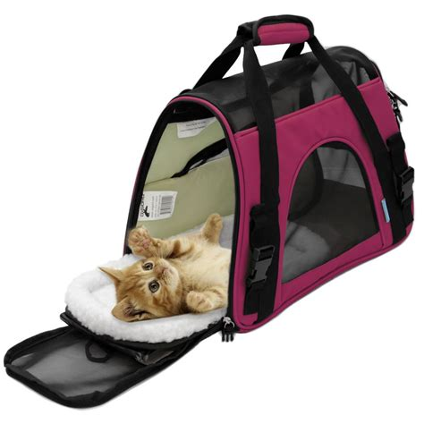 Tote Bag Kucing pet carrier sided cat travel tote bag airline