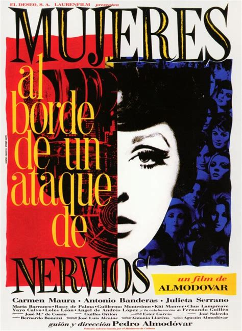 Was On The Verge Of Nervous Breakdown by Director Pedro Almodovar To Be Honored By As In