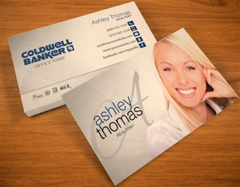 coldwell banker template for business cards realtor business cards business cards for real estate agents