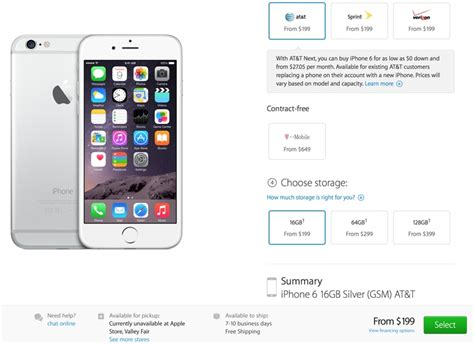 iphone order shipping estimates for iphone 6 pre orders slipping to 7 10 days macrumors