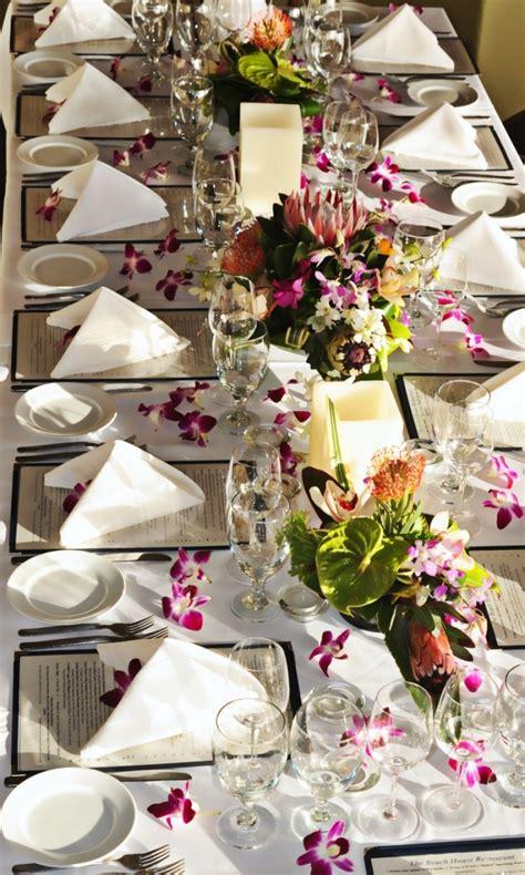 Ideen F R Tischdeko Hochzeit by Tischdeko F 252 R Hochzeit 85 Ideen Mit Blumen Und Viel Gr 252 N