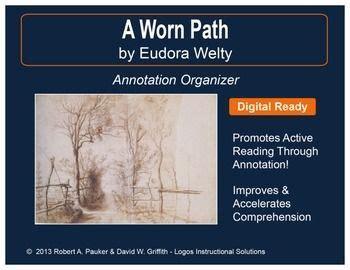 A Worn Path Essay by Aworn Path Eudora Welty Essay