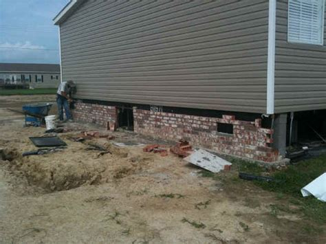 brick skirting for manufactured homes thgtexas htm 477241