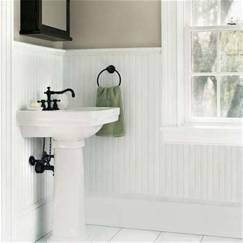 mdf beadboard in bathroom wainscoting designs pedestal the and nantucket