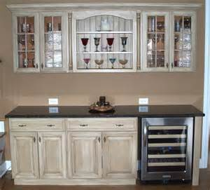 how to refinish cabinets with stain and glaze