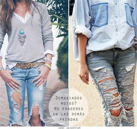 ideas para decorar jeans rotos inspiraci 243 n jeans rotos paperblog