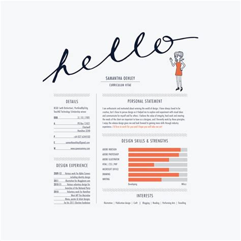 creative resume exles 17 awesome exles of creative cvs resumes guru