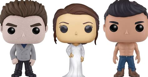 House Movies by Twilight Funko Pop Vinyl S Announced Edward Jacob Bella