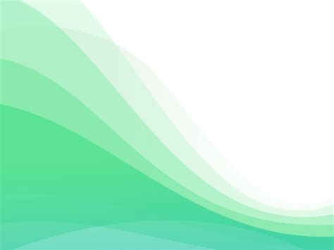 Background Template With Waves Backgrounds Abstract Green White Templates Free Ppt Powerpoint Backgrounds Templates