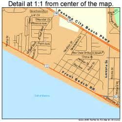 panama city on florida map panama city florida map 1254725