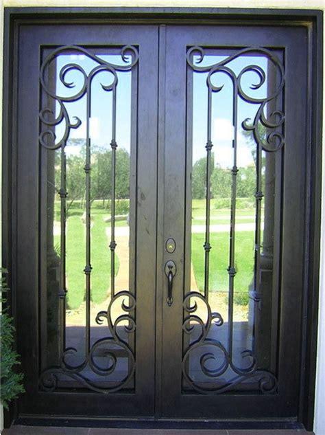 Contemporary Front Entrance Doors by Fotos De Puertas De Herreria Principales Con 4 Dise 241 Os