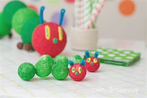 the hungry caterpillar birthday centerpiece