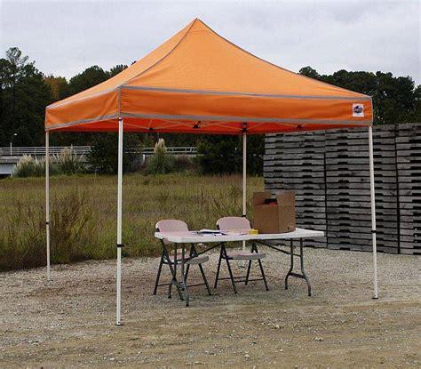 Shade Canopy Festival 10ft X 10ft Hi Visibilty Shade Canopy Fsshst10er