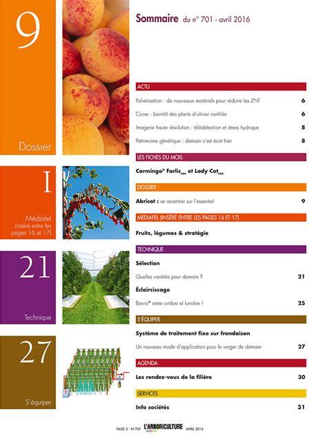 l arboriculture fruiti 232 re n 176 701 avril 2016 consultez