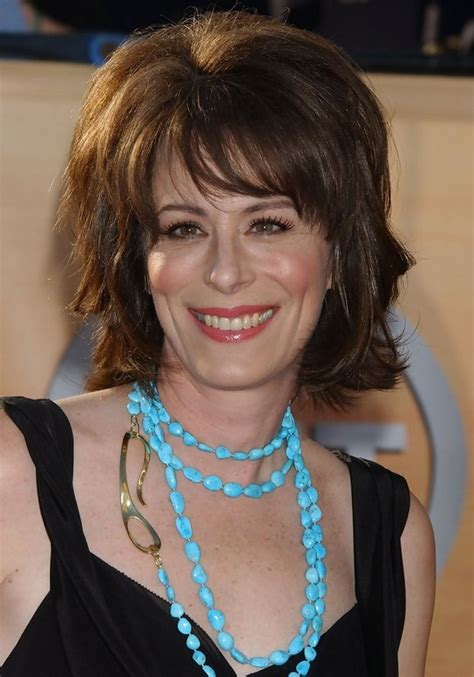 short hairstyles with bangs for over 50 jane kaczmarek layered short hairstyle with bangs for