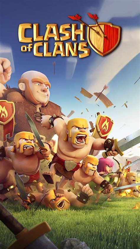 wallpaper design clash of clans clash royale wallpapers wallpaper cave